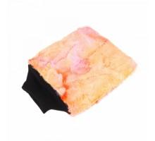 PURESTAR Color-Pop Wash Mitt . Плюшевая Особомягкая Рукавица Для Мойки. оранжевая PS-M-007-OR