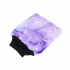 PURESTAR Color-Pop Wash Mitt . Плюшевая Особомягкая Рукавица Для Мойки. пурпурная PS-M-007-PURP