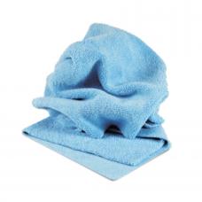 PROFI-MICROFASERTUCH BLAU Микрофибра салфетка 40*40 см, голубая, 400 гр. Au-241