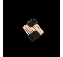 Губка- шпатель на деревянной ручке, комплект 10 шт. Au-263