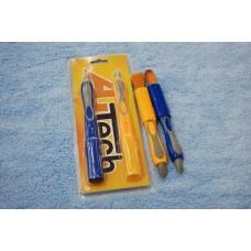 Кисточка с ластиком для чистки салона и остатков полироли 2 шт арт. 999653