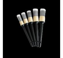 Кисточки с мягким искусственным ворсом, комплект 5 шт. Размер 12# 14# 16# 18# 20# Au-259 Autech