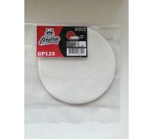Полировальный круг для стекла 125 мм. LERATON GP125 (фетр)