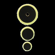 Полировальный круг комплект - полутвердый 75мм/54мм/34мм- желтый Au-33509E Autech